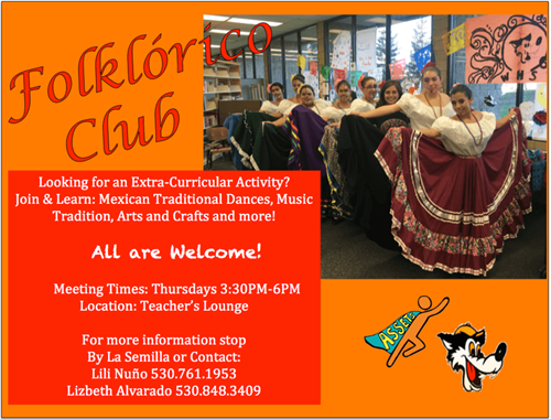 FOLKLORICO CLUB poster